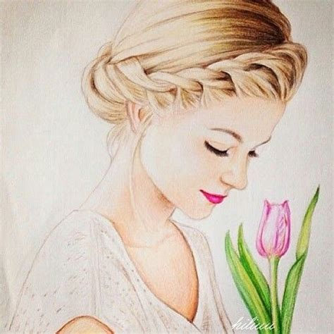 25 best ideas about beautiful girl drawing on pinterest