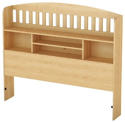 Maple Headboard South Shore Newton Collection Bookcase Headboard In