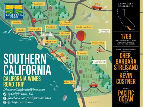vineyards in california map explore southern california on a california wines road