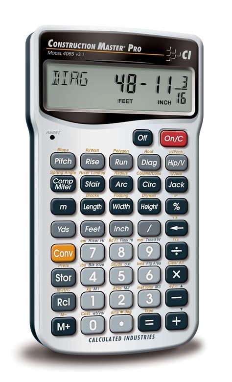 calculator math amazon com calculated industries 4065 construction master
