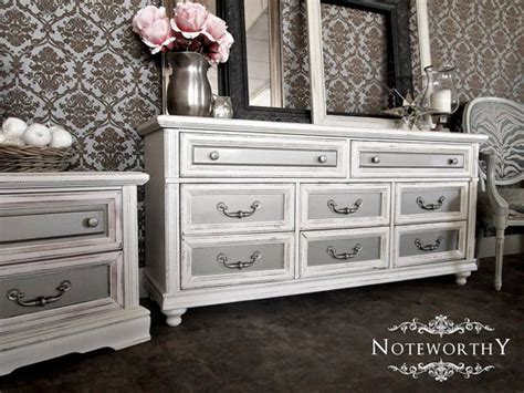 silver painted bedroom furniture glam silver distressed white dresser stand