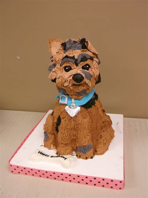 yorkie cakes yorkie cake this cake and the colors were made to look just like a family pet
