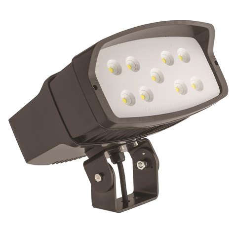 Lithonia Led Outdoor Lighting Lithonia Lighting Ofl2 Led Bronze Outdoor Flood Light Ofl2 Led P2 40k 347 Yk Ddbxd M2 The Home