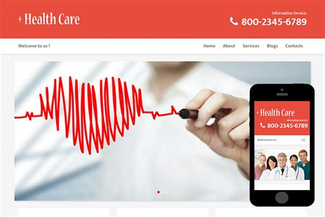 free bootstrap themes healthcare healthcare free bootstrap theme 365bootstrap