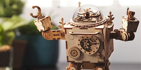 robots music build your own bff with this adorable robot music box