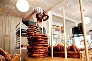 making soft pretzels   fashioned    york