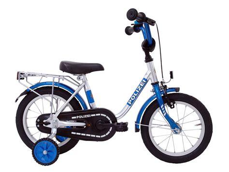 Polizei Aufkleber Fahrrad Entfernen by Kinderfahrrad 12 Quot Fahrrad Polizei Blau 410 Pz 77 Ebay