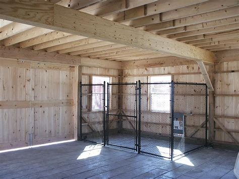 Dog Kennel In Garage by Pole Barn Loft Pdf Old Style Barn Plans Freepdfplans
