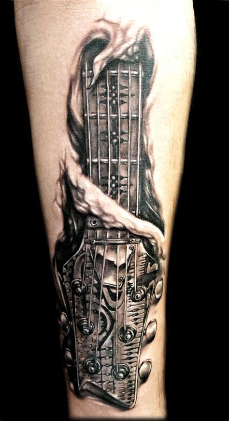 musical guitar tattoo designs     instaloverz