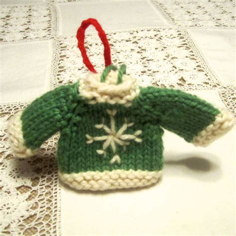 knit ornaments tiny top sweater ornaments knitting