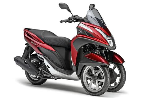 125 Motorrad Luftdruck by Yamaha Tricity 125