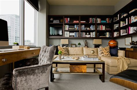 design home book boston penthouse downtown boston transitional home office