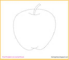 Trace Image Online Free Tracing Line Printable Apple Tracing Picture