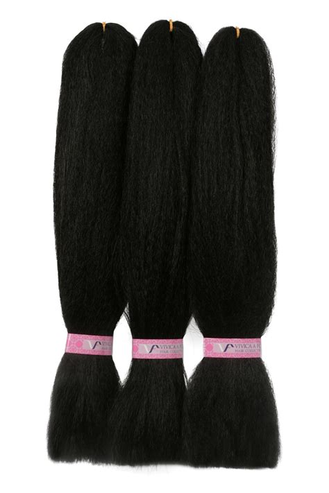 pack of kanekalon hair jumbo kanekalon braid 3 pack vivica fox hair collection