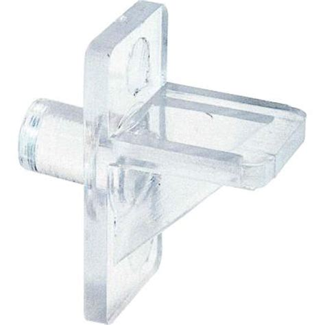 Shelf Pins Home Depot by Prime Line 5 Lb 1 4 In Clear Plastic Shelf Support Pegs