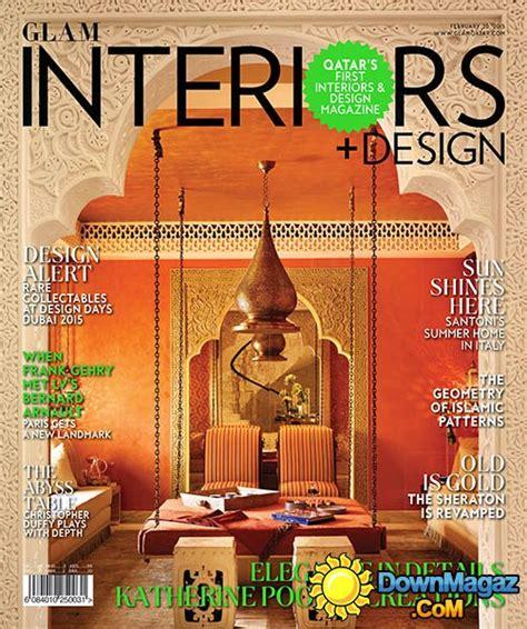 european home design magazines qatar s glam interiors design issue 3 february 2015
