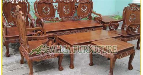 Kursi Kayu Ukiran kursi meja tamu ukiran hongkong mawar allia furniture