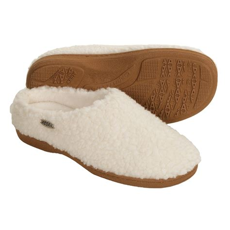 acorn house slippers acorn nex tex clog slippers for women save 31