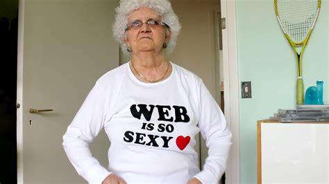 i meme lucienne la mamie la plus d 233 cal 233 e du net donne ses