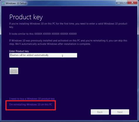 install windows 10 no product key digital license microsoft community