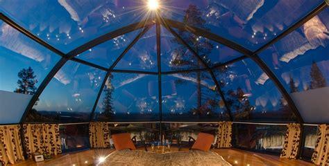 techo village habitaciones de hotel con el techo de cristal para ver