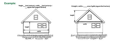 how to measure square footage of a house measure for new siding vinyl fiber cement wood cedar shakes stone metal log cabin