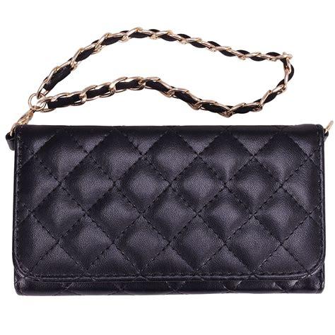 Clutch Cross Wallet quilted cross wristlet wallet luxury purse style