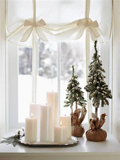 fensterbrett weihnachten weihnachtsdeko tipps f 252 r kleine innenr 228 ume 30