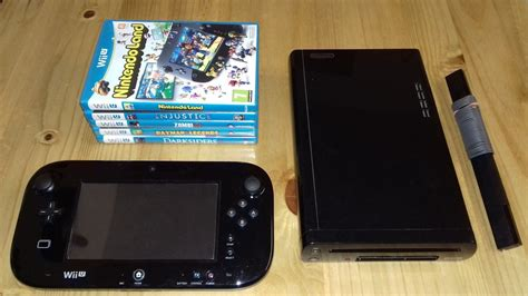 nintendo wii console system nintendo wii u black handheld console system gamepad