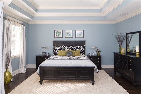 tray ceiling bedroom chicago illinois interior photographers custom luxury home