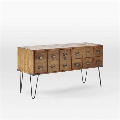 West Elm Media Cabinet by Librarian Media Console West Elm