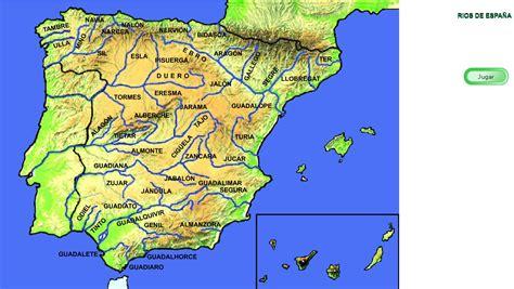 los rios de espana las aguas de espa 241 a r 237 os de espa 241 a didactalia material