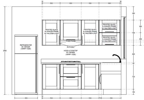 kitchen cabinet drawings two storeys window shopping kitchen cabinets