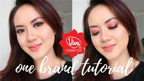 Eyeshadow Viva Kosmetik viva cosmetics one brand makeup tutorial produk lokal