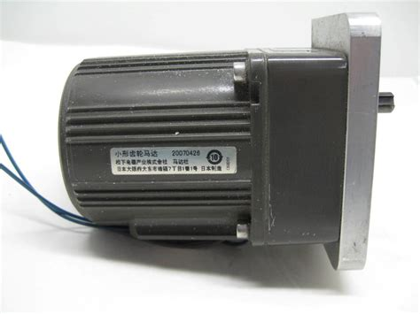 panasonic m8rx25g4gga reversible induction motor 25w 4 pole 220 230v ac ebay