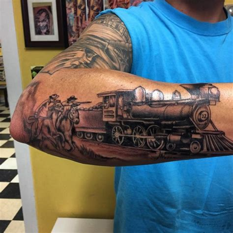 railroad tattoos 36 best tattoos images on