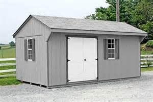 quaker storage shed 10x18