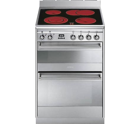 Electric Cooker buy cheap smeg stainless steel electric hob compare