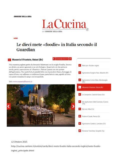 cucina corriere della sera corriere della sera le dieci mete foodie in italia