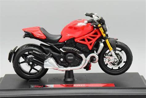 Maisto Motor Ducati Scrambler Yellow Skala 118 1 18 scale maisto diecast ducati 1200s model