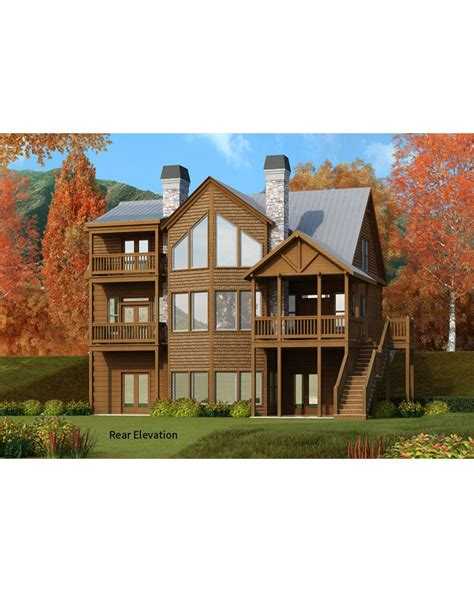 home architecture vacation ranch house plans