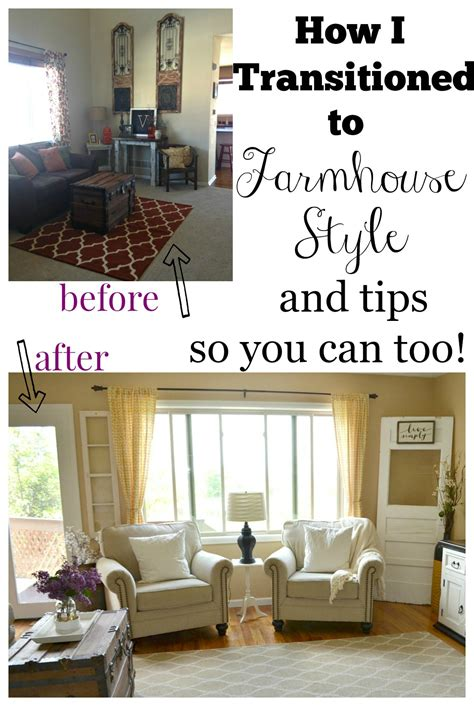 Farmhouse Style Decor by How I Transitioned To Farmhouse Style Vintage Nest