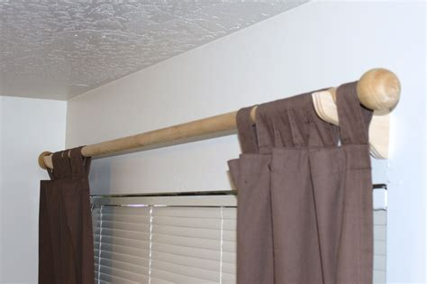how to make homemade curtain rods a load of craft tutorial how to make curtain rod