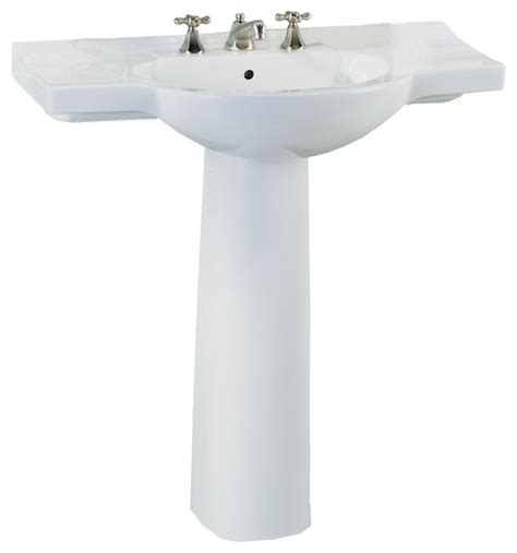 st creations sink st creations 5035 331 01 palermo pedestal in white