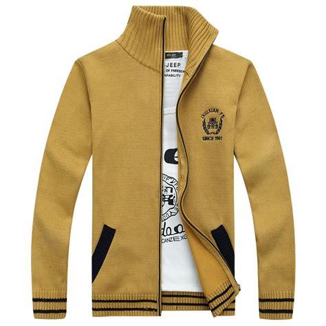 Zipper Sweater Jaket 1 winter cardigan sweaters zipper jacket sweater s kintting cotton coat preppy