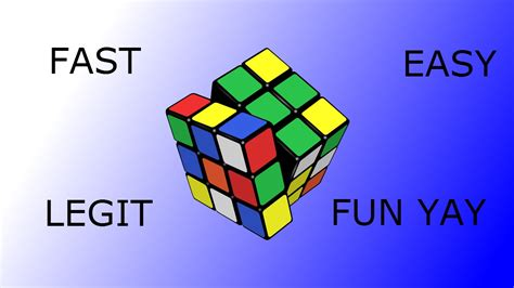 tutorial menyelesaikan rubik cube 3x3 100 legit easy and fast way to solve a 3x3 rubik s cube