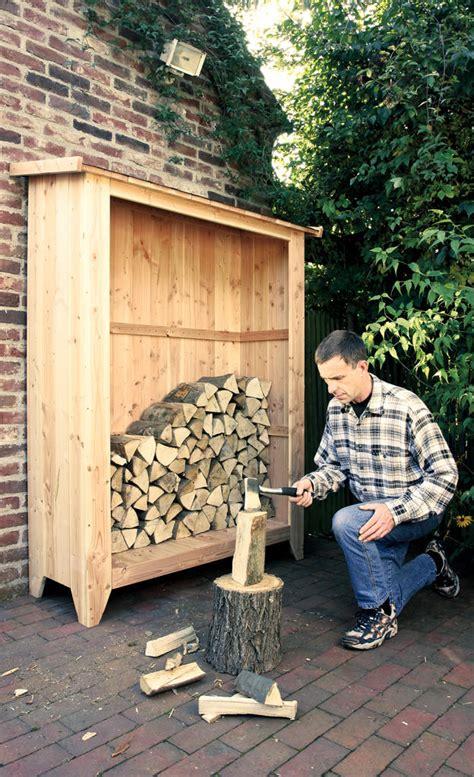 lagerung kaminholz brennholz lagern selbst de
