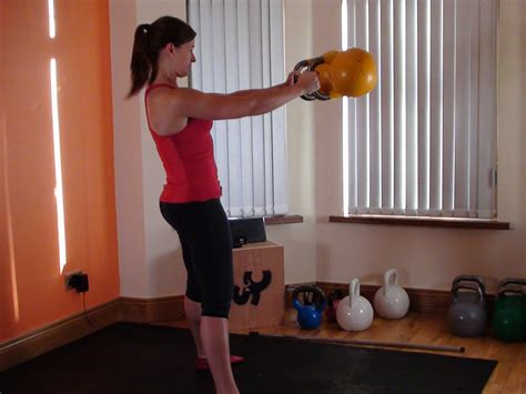 double kettlebell swing ultimate home strength training routine with tabata