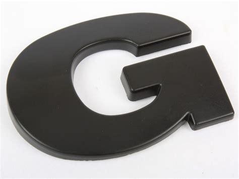 Buchstaben Aufkleber F R Auto by 3d Buchstaben Zahlen Schwarz Selbstklebend Auto Aufkleber