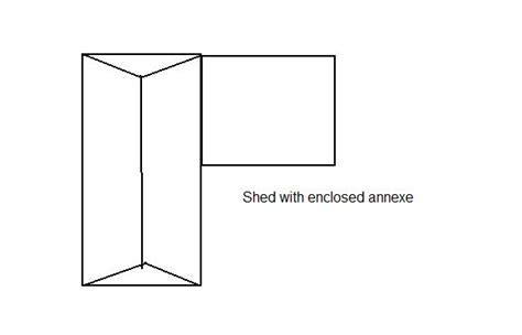 shaped shed plans   build diy